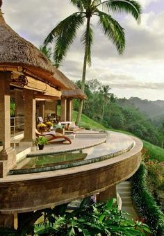 8 of Bali's Best Spa Getaways Bali Resort, Beach Paradise, Beautiful Homes, Beautiful Places, Amazing Places, Beautiful Life, Bedroom Balcony, Best Spa, Hotels And Resorts