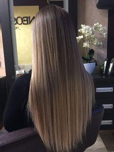 hair morenas Metamorphose meiner Haare (S T Y L E E V) Brown Hair Balayage, Brown Blonde Hair, Brunette Hair, Hair Highlights, Balayage Hair Brunette Straight, Blonde Balayage, Black Hair, Haircuts For Long Hair, Straight Hairstyles