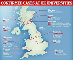 Glasgow, Edinburgh, Uk Universities, Dundee, Aberdeen, Nottingham, Leeds, Liverpool, Manchester