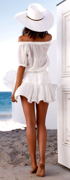 White is hot for the beach this summer