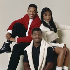 Will, Carlton and Ashley Ashley Banks, Tatyana Ali, Fresh Prince, Just For Fun, Black People, Will Smith, Spirit Animal, Actors & Actresses, Pop Culture