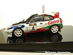 toyota corolla 1999 auriol auto art escala 1-43 (1)