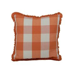 I pinned this Picnic Pillow in Orange from the Signature Pillows event at Joss and Main!