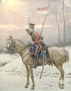 Dutch 'Red Lancer' of the Imperial Guard