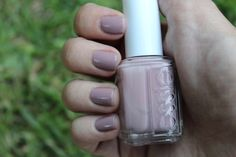 """Essie's lady like is a great color that has light purple and tope undertone. It isn't a """"loud"""" color and goes with nearly everything you wear."""