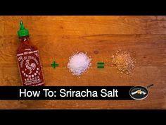 Make Your Own Sriracha Salt
