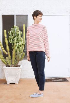 DIY Funnel Neck Sweater - Review of the Toaster Sweater pattern by Sew House 7   Sew DIY