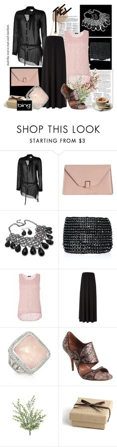 """""""Elegant and Sexy"""" by kbullerman ❤ liked on Polyvore featuring Helmut Lang, Valextra, Fantasy Jewelry Box, Chan Luu, Quiz, Bobi, Sho, Tabitha Simmons, Dolce&Gabbana and Jigsaw"""