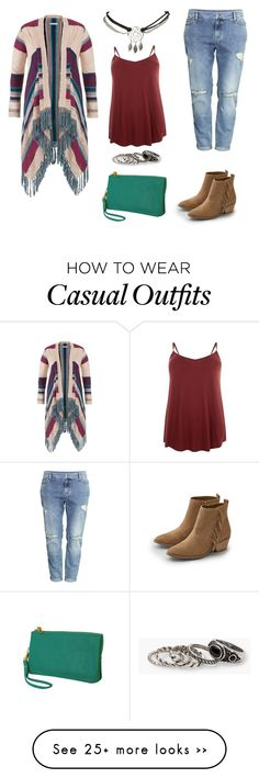 """""""Plus Size Native Influenced Casual"""" by iknaq on Polyvore featuring maurices, H&M, American Eagle Outfitters, Humble Chic, Wet Seal and MANGO"""