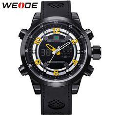a3fa3071b8e WEIDE Casual Outdoor Sport Watches For Men Quartz Digital Multifunction  Waterproof Wristwatches Mens Watch Relogio Masculino