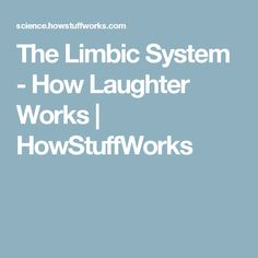 The Limbic System - How Laughter Works | HowStuffWorks