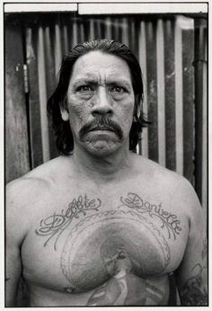 """Danny Trejo - """"I believe that there are 2 kinds of people in the world - those that wanna make a difference & those that wanna take up space"""" - he's been both"""