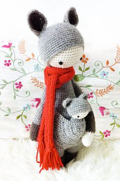 Crochet Pattern Doll KIRA the kangaroo PDF by lalylala on Etsy, €5.50