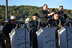 Swingtime Big Band in Augusta, Kentucky.