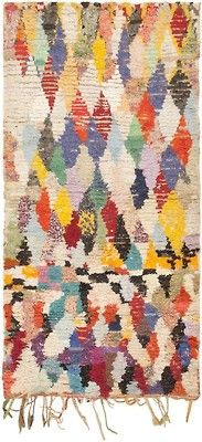 View this beautiful Vintage Moroccan Carpet 45840 from Nazmiyal's fine antique rugs and decorative carpet collection. Morrocan Rug, Textiles, Textile Fiber Art, Berber Rug, Rug Hooking, Floor Rugs, Vintage Rugs, Rugs On Carpet, Lana