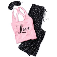 A fashion look from February 2015 featuring Victoria's Secret pajamas. Browse and shop related looks.