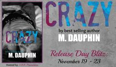 Crazy Release Day Blitz @authormdauphin @SBB_PROMOTIONS - http://roomwithbooks.com/crazy-release-day-blitz/