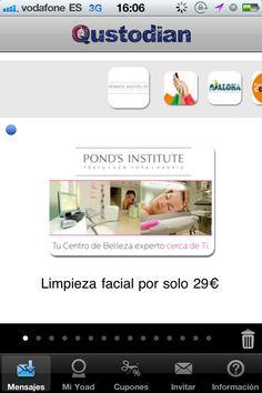 Descuento exclusivo en Pond´s + regalo  http://blog.es.qustodian.com/?p=774 #MarketingMovil
