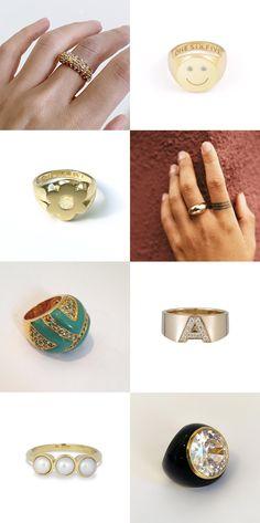 my favorite power rings! - Oh Joy!