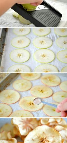 Appels chips Healthy and tasty ☺ ✿