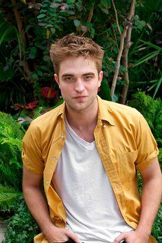 Robert Pattinson sabe seducir a la camara