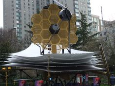 'The James Webb Space Telescope, previously known as Next Generation Space Telescope, is a planned space telescope optimized for observations in the infrared, and a scientific successor to the Hubble Space Telescope and the Spitzer Space Telescope.'(via wikipedia.org)
