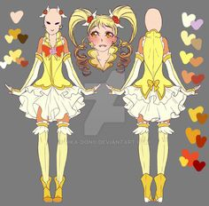 Cure Lemonade - Grown-up Design by rika-dono.deviantart.com on @DeviantArt