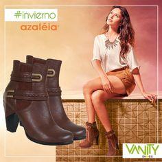Compra los #botines en la comodidad de tu hogar u oficina...pregunta por tu favorita de Azaleia Perú en Vanity Shoes