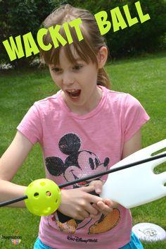 WackIt Ball - a NEW Backyard Game!!