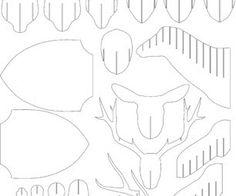 Diy cardboard deer head template choice image templates design ideas cardboard deer template image collections templates design ideas diy cardboard deer head template diy pinterest cardboard pronofoot35fo Gallery