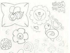Resultado de imagen para dibujos para bordar sabanitas de bebe