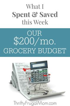 See the details of our $200 a month grocery shopping trips each week and along the way you'll also learn the things that I do to save and live well on a low budget!
