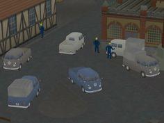 VW-T1 Doppelkabinen Bj 58 Set 1
