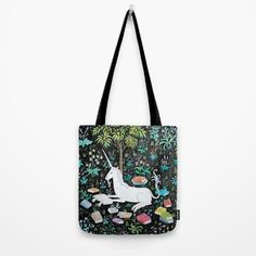 """Inspired by """"The Unicorn in Captivity"""" tapestry <br/> <br/> books, fantasy, medieval, flowers, cloisters"""