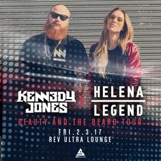 Don't forget about Kennedy Jones & Helena Legend tonight at Rev Ultra Lounge in downtown Minneapolis!  With opening support from StereoGo and Lucy Luxe, this is going to be a great night!  See you there!!!