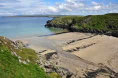 One of the lesser known beaches on Islay, the beach at Port Ghille Greamhair near Sanaigmore. It's quite well hidden between the low hills around it and you can only really see it when you're almos...