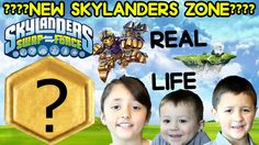 ¿¿New Swap Zone?? in Real Life - A Day with Spy Rise (Skylanders Swap Fo...