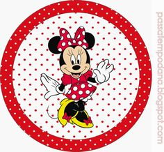 Minnie Red and White Polka Dots: Free Printable Invitations and Candy Bar Labels. Mickey Mouse Birthday, Mickey Minnie Mouse, Free Printable Invitations, Party Printables, Comic Party, Dots Free, Candy Bar Labels, Christmas Scenes, Party Kit