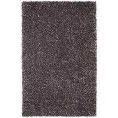 Mohawk Home Shimmer Graphite Gray Rectangular Indoor Tufted Area Rug Common 5 X 8 Actual
