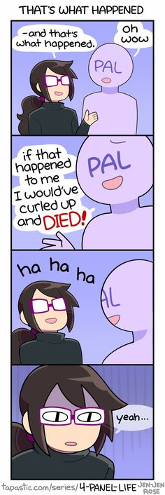 4-Panel Life :: THAT'S WHAT HAPPENED | Tapastic Comics - image 1