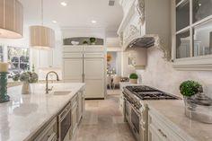 Light and Bright Kitchen in Rancho Santa Fe