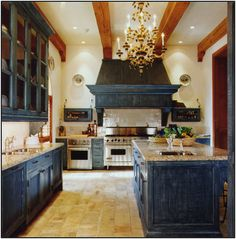 A kitchen of a different color… | Essence Design Studios, LLC