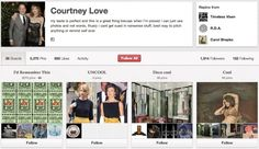 Who To Follow On Pinterest: Courtney Love, Rag & Bone And More Pinners We Love