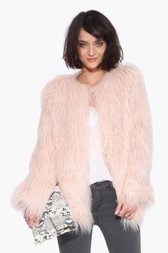 Cassie Faux Fur Jacket