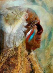"""The first peace, which is the most important, is that which comes within the souls of people when they realize their relationships, their oneness with the universe and all it's powers...and when they realize at the center of the universe dwells the Great Spirit... and that it's center is really everywhere, it is within each of us."" ♥ -Black Elk"