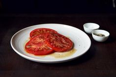 Brown Butter Tomatoes Recipe on Green Tomato Recipes, Vegetable Recipes, Vegetarian Recipes, Tomato Sandwich, Savory Snacks, How To Eat Paleo, Brown Butter, Food 52, Side Dishes