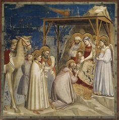 Giotto di Bondone - Adoration of the Magi, c.1304-c.1306