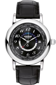 c53c609f6ad  Montblanc Star World-Time GMT Automatic - This little miracle is safely  harbored inside