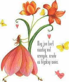 Good Morning Wishes, Day Wishes, Lekker Dag, Inspirational Poems, Motivational Quotes, Evening Greetings, Afrikaanse Quotes, Goeie More, Little Pigs