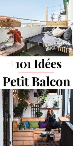 101 Deco & Design Ideas For A Small Balcony - Garden Home Layout Design, Design Home App, Design Ideas, Quiz Design, Patio House Ideas, Design Your Own Home, Trendy Home, House Layouts, Balcony Garden